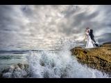 CRAZIEST Real Wedding Day Beach Shoot Ever woff camera flash w Flashpoint RL600B &amp Sony A7ii