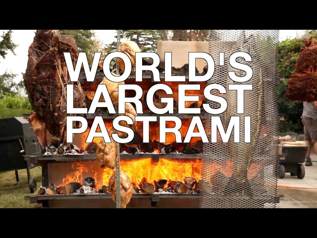 Worlds Largest Pastrami • ChefSteps