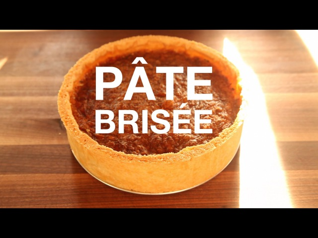Pate Brisee Recipe - ChefSteps