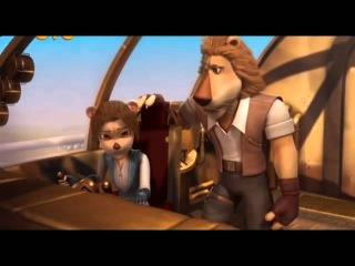 Макс динотерра 1 сезон 3 серия Летучий корабль