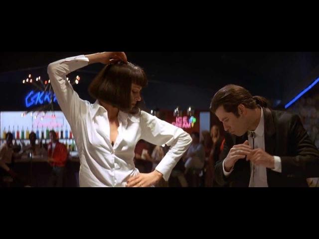 John Travolta and Uma Thurman Dance scene in Pulp Fiction