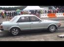 Ford Granada GM LS series V8 vs Haybusa Turbo Dax Rush at TOTB 2013 RWD FINALS