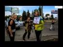 Украинская мученица в Донецке террористы привязали к столбу женщину и избили 26 08 2014