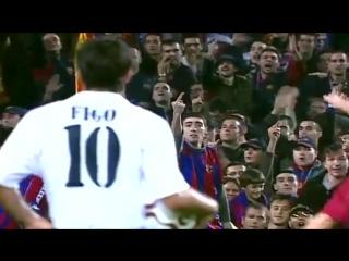 Figo vs Barcelona en el Camp Nou