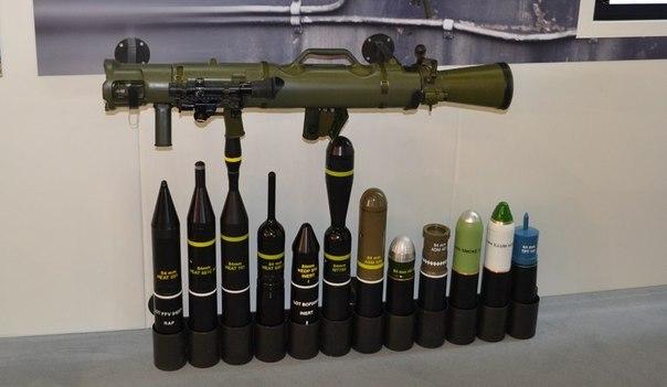 Противотанковый гранатомет Carl Gustaf (Швеция)