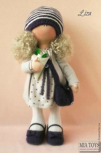 Трикотажные куклы своими руками