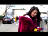 [FANCAM] 300115 Bora Arrived KBS For Music Bank