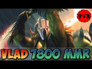 Dota 2 - Vlad 7800 MMR Plays Juggernaut vol #1 - Ranked Match