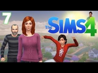 The Sims 4 Поиграем? Семейка Митчелл / #7 Летающая Мария