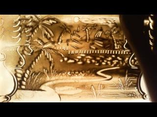Храм Джаганатхи в Пури - песочная анимация под музыку Пьер Эдель и Нитай - Сита Рам (концерт)