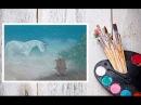 Видео урок Рисуем Пастелью Ёжика в тумане! Dari_Art