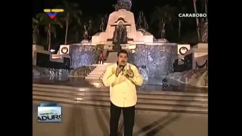 (Vídeo) Maduro en Carabobo El camino se perdió por las traiciones y Chávez retomó la independencia