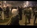 МАЙДАН: Уникальная съемка атакующих милицию на улице Банковая