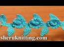 Crochet Floral Cord Pattern Tutorial 53 Crochet Cords Ribbons Lace Tapes