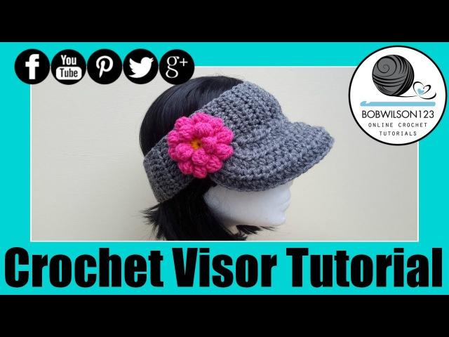 The Curtis Visor Crochet Tutorial