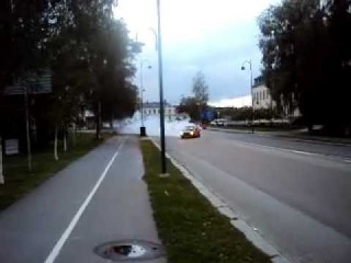My Opel Kadett C burnout