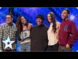 Band of Voices acapella group sing 'Price Tag'  Week 6 Auditions  Britain's Got Talent 2013