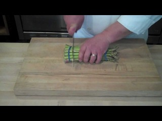 How To Prep & Blanch Asparagus