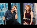 Tom Hiddleston, Mia Wasikowska and Jessica Chastain on AOL BUILD - Oct 16, 2015