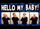Hello My Baby (Frog Song) - A Cappella Barbershop Quartet (Trudbol SgtSonny)