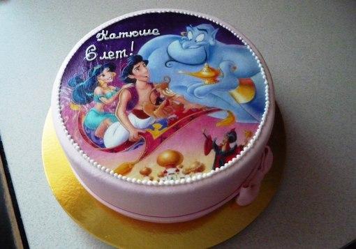 Вафельные картинки для тортов