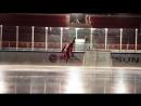 Александр Радулов на съемках промо ролика Матч ТВ Alex Radulov for promo Match TV