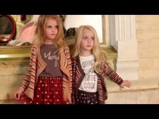 MANGO Kids Photo Shoot backstage by MATR�SHKA Kids Models