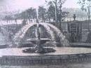 Фонтан в парку Шевченка. Тернопіль, газета «Вільне Життя» / 22 липня 1953р
