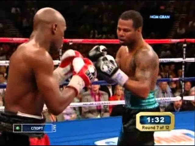 Floyd Mayweather Jr. vs Shane Mosley Флойд Мэйвезер мл - Шейн Мозли