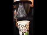 Naked Kim Kardashian makes fresh coffee #BREAKTHEINTERNET