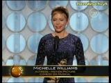 Мишель Уильямс – Премия Золотой Глобус (13.01.2012). Лучшая актриса в мюзикле или комедии  - «7 дней и ночей с Мэрилин»