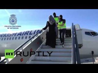 Испания: Девушкой ИГИГ арестован подозреваемый ввода Испанию в аэропорту Малаги.