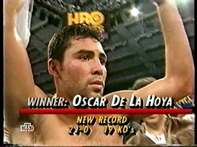 Оскар Де Ла Хойа-Дарил Тайсон(Вл.Гендлин старший) Oscar De La Hoya-Darryl Tyson