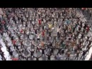 Historic flashmob in Antwerp train station, do re mi