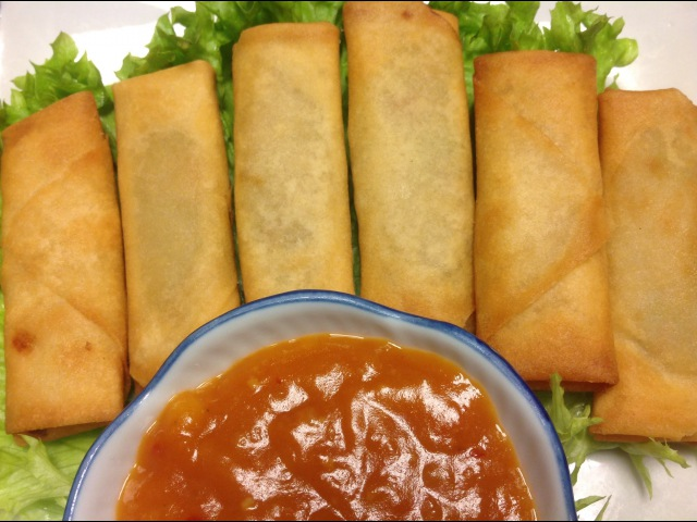 Spring Roll Filling Recipe Surinamese Snacks Delicatessen
