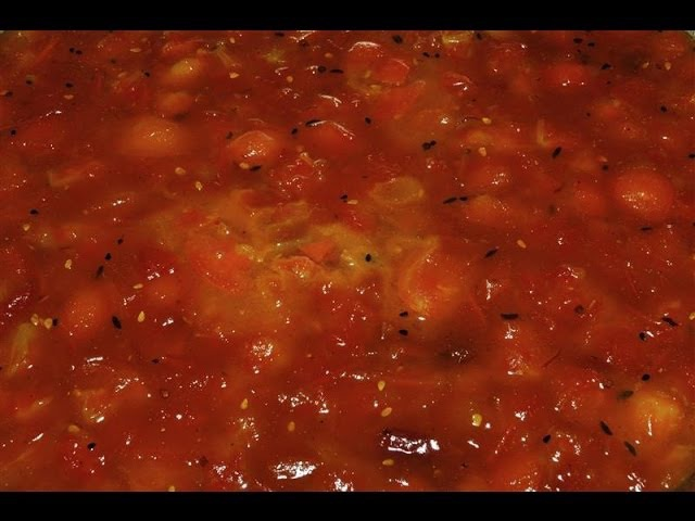 Delicacy Tomato Chutney for Bara Surinamese Recipes