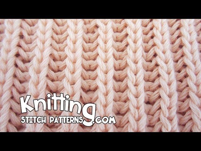 Brioche stitch Two identical sides