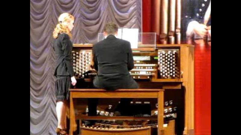 органная музыка И.С.Бах 2 / I.S.Bah's organ music 2