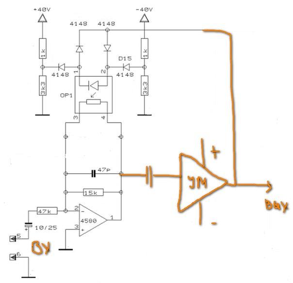 Схема оптического лимиттера
