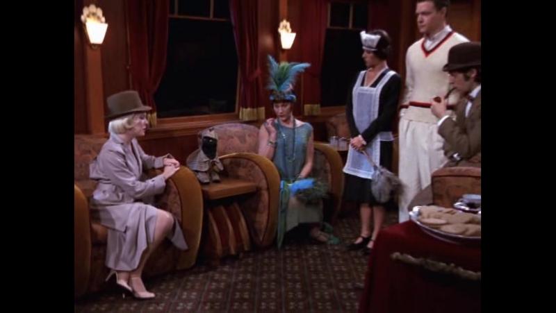 Сабрина маленькая ведьма (Sabrina, the Teenage Witch) 6 сезон 4 серия «Murder on the Halloween Express» «Убийство в Хэллоуинско