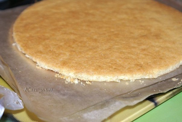Фото-рецепт песочного торта