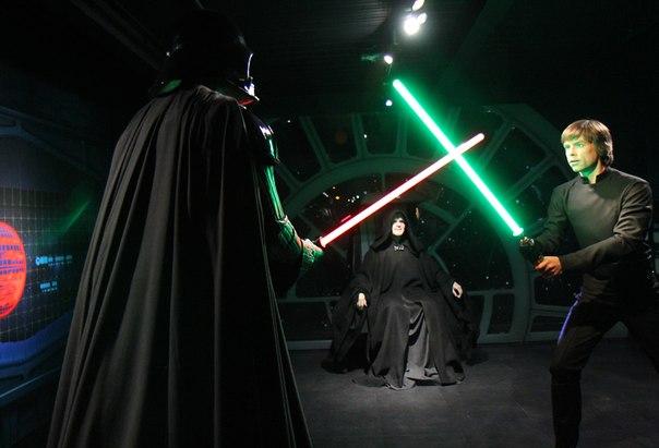 Новости Звездных Войн (Star Wars news): Star Wars в музее восковых фигур мадам Тюссо