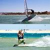 Кайтсерфинг Виндсерфинг Парусный Спорт в Египте
