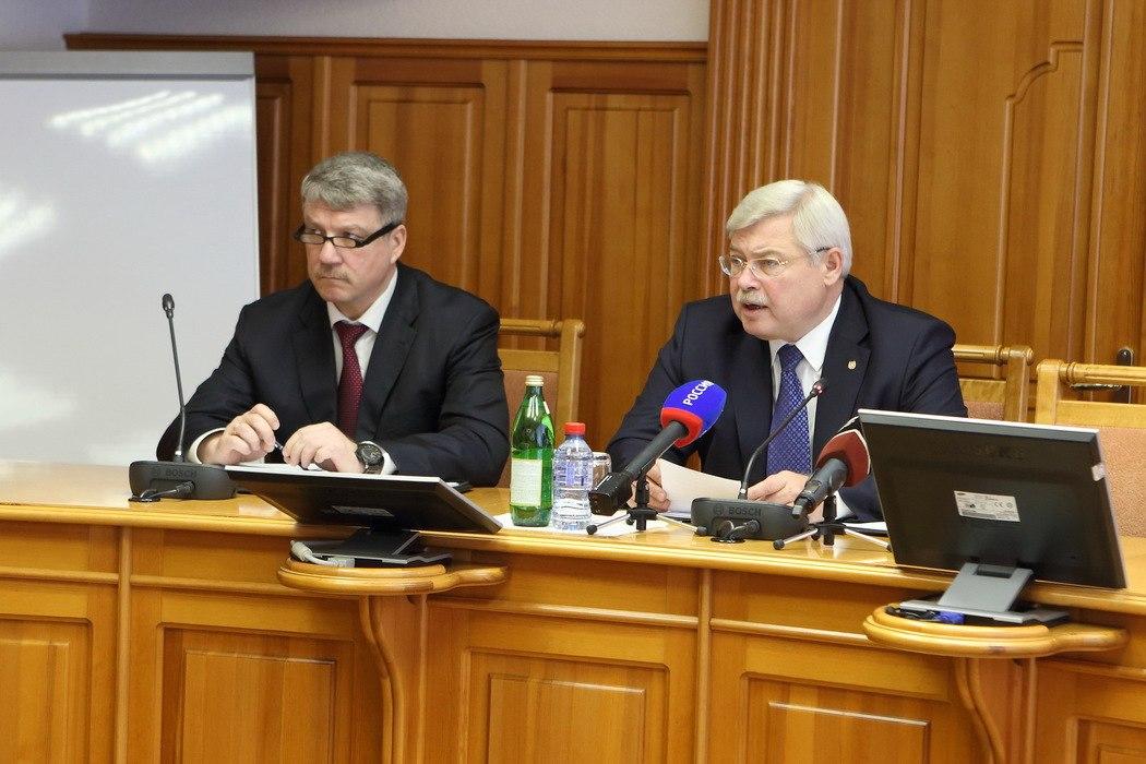 Сергей Жвачкин и начальник УФСБ проверили готовность правоохранителей к майским праздникам