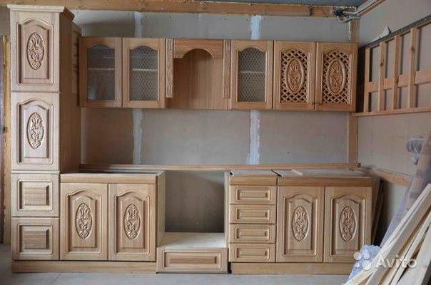 Кухня с дерева своими руками фото