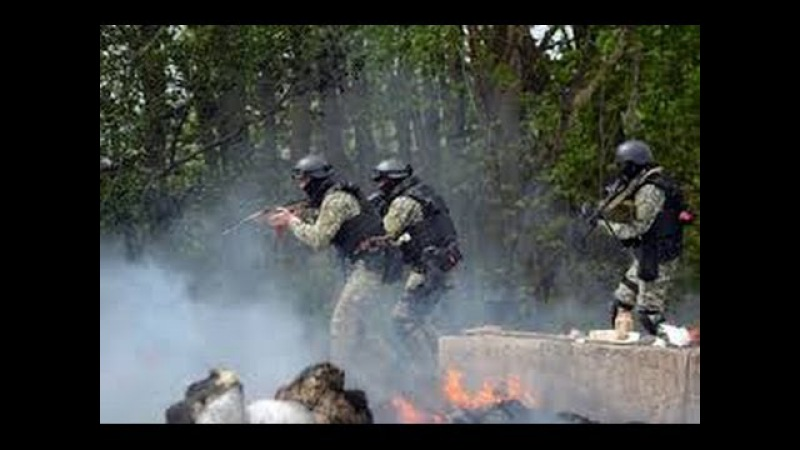 Славянск идёт штурм 2 мая/ Slovyansk assault is May 2