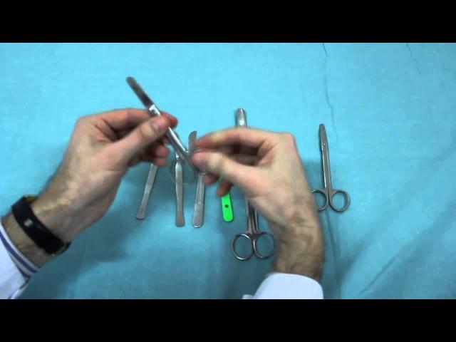 Инструменты для разъединения тканей