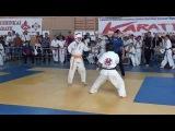 Авакян Рафаел финальный бой Самурай - Первенство Светлограда 27 октября 2015 Киокушинкай каратэ