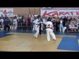 Авакян Рафаел 2 бой Самурай - Первенство Светлограда 27 октября 2015 Киокушинкай каратэ