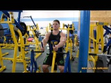 IFBB Men's Physique Pro Steve Cook Back Training at The NPC Photo Gym